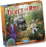 Board Game: Ticket to Ride Map Collection: Volume 3 – The Heart of Africa
