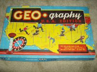 Board Game: Geo-Graphy