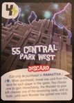 Board Game: King of New York: 55 Central Park West