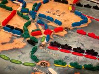 Board Game: Ticket to Ride: Rails & Sails