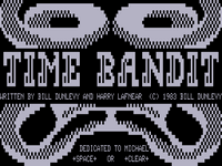 Video Game: Time Bandit