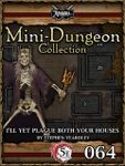RPG Item: Mini-Dungeon Collection 064: I'll Plague Both Your Houses (5E)