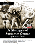 RPG Item: A Menagerie of Summoner Options