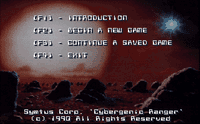 Video Game: Cybergenic Ranger - Secret of the 7th Planet