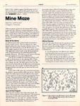 Video Game: Mine Maze