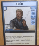 "Board Game: Pathfinder Adventure Card Game: ""Edér"" Promo Card"