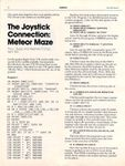 Video Game: Meteor Maze