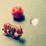 Crystal Tiger Dice