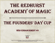 RPG Item: The Redhurst Academy of Magic Web Enhancement #3: The Founder's Day Cup