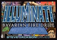 Board Game: Illuminati: Bavarian Fire Drill