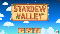 Video Game: Stardew Valley