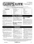 RPG Item: GURPS Lite (4th Edition)