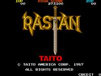Video Game: Rastan