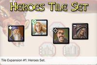 Video Game: Kingdoms Tile Expansion #1: Heroes Set