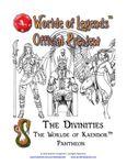 RPG Item: The Divinities: The Worlde of Kaendor Pantheon