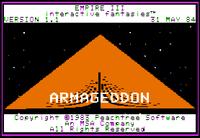 Video Game: Empire III - Armageddon