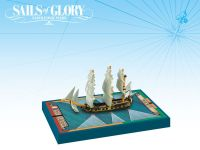 Board Game: Sails of Glory Ship Pack: Alligator 1782 / Le Fortune 1780