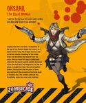 Board Game: Zombicide Survivor: Oksana
