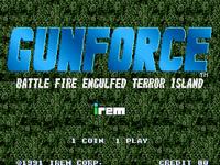 Video Game: Gunforce: Battle Fire Engulfed Terror Island