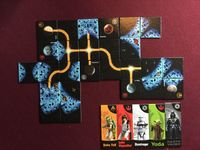 Board Game: Carcassonne: Star Wars