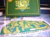 Board Game: Tee Off on Golf