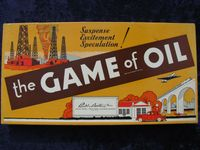Board Game: Game of Oil