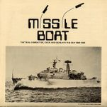 Board Game: Missile Boat: Tactical Combat On, Over and Beneath the Sea 1964-1984