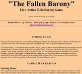 RPG Item: The Fallen Barony