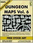 RPG Item: DMAP6: Dungeon Maps Vol. 6