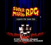 Video Game: Super Mario RPG: Legend of the Seven Stars