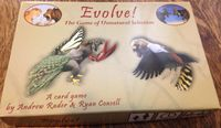 Board Game: Evolve! The Game of Unnatural Selection
