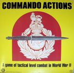 Board Game: Commando Actions: A Game of Tactical Level Combat in World War II