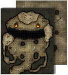 RPG Item: GameMastery Flip-Mat: Dragon's Lair