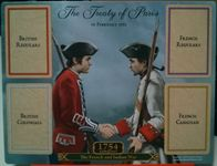 Board Game Accessory: 1754: Conquest – The French and Indian War: 1763 Treaty of Paris board