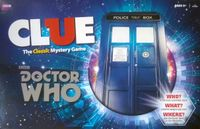 Board Game: Clue: Doctor Who
