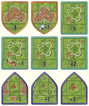 Board Game: Carcassonne: The Land Surveyors