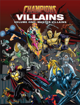 RPG Item: Champions Villains Volume One: Master Villains