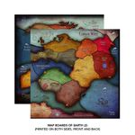 Board Game: Cthulhu Wars: Six to Eight Player Earth Map