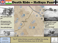 Board Game: Death Ride: Halfaya Pass
