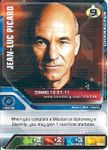 Board Game: Star Trek Deck Building Game: The Next Generation – Release Date Ad Card – Jean-Luc Picard