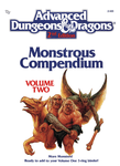 RPG Item: MC02: Monstrous Compendium (Volume Two)