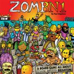 Board Game: ZomBN1: A Board Game all About Zombie Infested Brighton