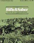 Board Game: Rifle & Saber: Tactical Combat 1850-1900