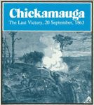 Board Game: Chickamauga: The Last Victory, 20 September 1863