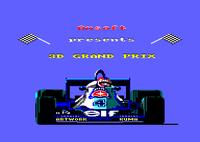 Video Game: 3D Grand Prix