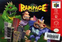 Video Game: Rampage World Tour