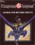 RPG Item: DDREF1: Character Record Sheets
