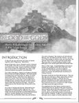 RPG Item: Blood of the Gods