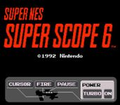 Video Game: Super Scope 6