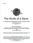 RPG Item: AOA1-1: The Worth of a Slave